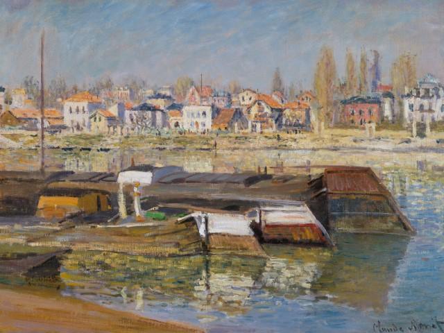 Wallraf-Richartz-Museum & Fondation Corboud, Koeln, Dep. FC 784, Monet, Claude, La Seine à Asnières