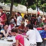 Freundeskreis besucht französisches Altstadtfest in Düsseldorf