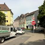 Rausinger Straße: Kein Verbot für Lkw, aber Ausweitung von Tempo 30