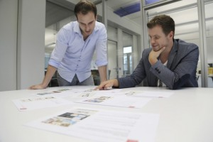 Die beiden Gründer von urlausbguru.de:  Daniel Marx (l.) und Daniel Krahn. (Foto: Uniq)