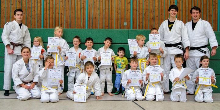 Der Judo-Nachwuchs beim JCH hat