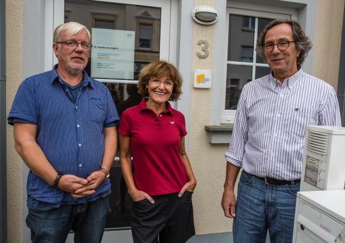 Mitarbeiter des ASD in Holzwickede: Andreas Obermann, Christine Becker-.Gierke und Sachgebietsleiter Gerd Steiner. (Foto: peter Grfänber/emscherbloig.de