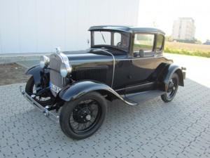 Dieser Ford A, Baujahr 1930, ist der älteste gemeldete Oldtimer bei der 6. Haarstrang Klassik. (Foto: MSC Holzwickede)