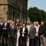 Spitzentreffen in der guten Stube: Delegation aus Nowy Sacz in Opherdicke zu Gast