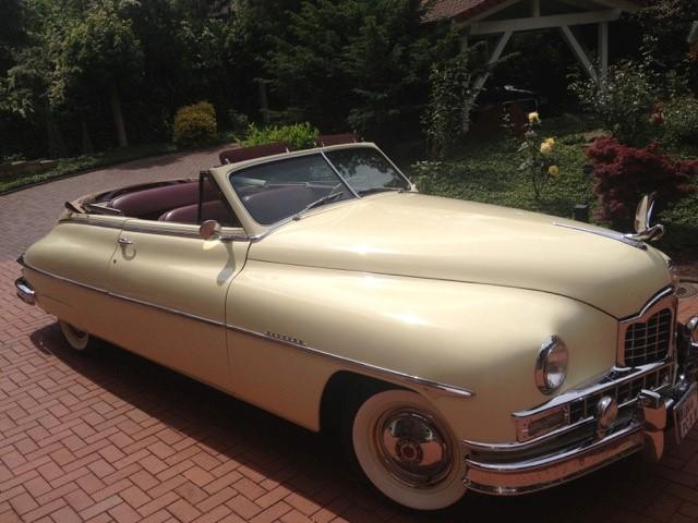 Seltenes Modell:  Dieser Packard Victoria, Baujahr 1950, ist ebenfalls gemeldet. (Foto: MSC Holzwickede)