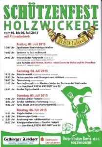 Bürgerschützenverein Festprogramm