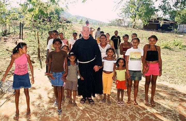 Pater Beda in Brasilien