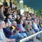 Europäisches Fußball-Spektakel vor 1.200 Zuschauern