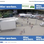 Neue Webcam des Aktivkreises überträgt Blick auf den Marktplatz in alle Welt