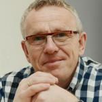 Bürgermeisterkandidat Michael Klimziak mittwochs mit eigenem Stand vor Ort