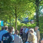 Allee zum früheren Hof Dudenroth: Über 20 Linden sollen verschwinden