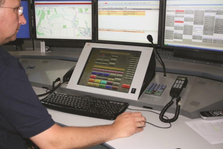Die Rettungsleitstelle des Kreises vermittelte und koordinierte im vergangenen Jahr 4.737 Einsätze. (Foto: C. Rauert)