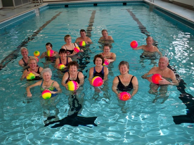 Die Wassergymnastikkurse des HSC finden ab morgern in der Kleinschwimmhalle statt. (Foto: HSC-Gesundheitssport)