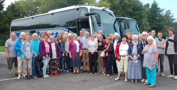 Die Reisegruppe nach Weymouth & Portland ist am Wochenende wieder in die Gemeinde zurückgekehert. (Foto: privat)