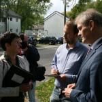 NRW-Ministerin Steffens besucht Erstaufnahmeeinrichtung in Unna-Massen