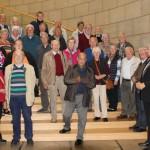 Ökumenische Gemeinde Holzwickede besucht den Landtag