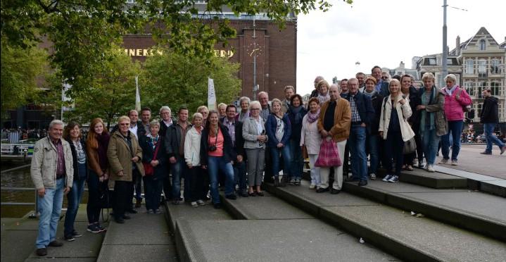Die Teilnehmer der CDU-Bürgerfahrt in Amsterdam. Foto: privat)