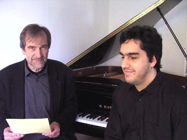 Literarischer Klavierabend mit Dr. Burkhard und Martin Engel