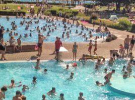 Etwas mehr als 70.000 Badegäste zählt das Freuibad Schöne Flöte dieses Jahr. Am Sonntag endet die Freibadsaison. (Foto: P. Gräber - Emscherblog.de)