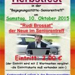 Trägerverein lädt zum Herbstfest ein