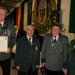 Westfälischer Schützenbund: Protektor-Medaille in Silber für Rolf Dulle
