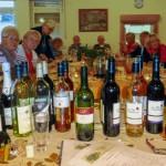 Erste Weinprobe des Trägervereins in der Begegnungsstätte