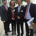 Kommunen sollen entlastet werden: Treffen mit Kreisdirektor in Berlin