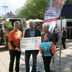 Bürgerblock spendet 500 Euro an Schulmaterialienkammer