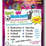 Nacht der Jugendkultur: Holzwickede mit Sport- und Musiknacht dabei