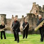 Pindakaas Saxophon Quartett gastiert im Spiegelsaal