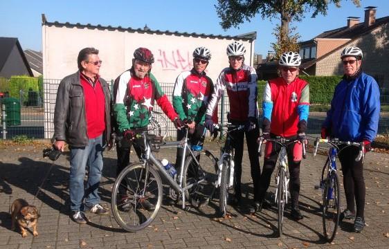 Die Radsportler des HSC