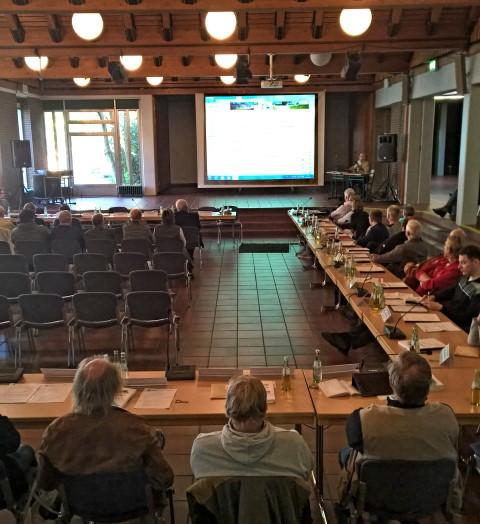 Vorstellung des Rats- und Bürgerinformationssystems im Gemeinderat. (Foto: Peter Gräber)