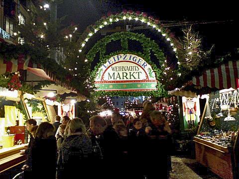 Ziel der SPD-Fahrt: der Weihnachtsmarkt in Leipzig. (Foto: MOdmate)
