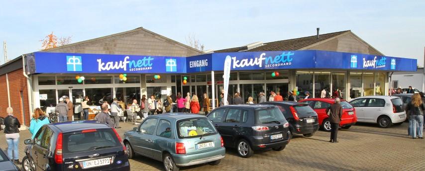 Diakonie Sozialkaufhaus Kaufnett Neueröffnung. (Foto: Diakonie/Stefan Reimet)