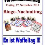 """""""Bingo Time"""" beim Vereinsnachmittag des Trägervereins"""