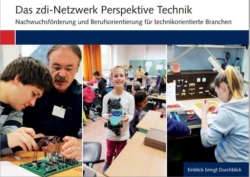 Das bei der WFG Kreis Unna angesiedelte zdi-Netzwerk Perspektive Technik bietet in Zusammenarbeit mit der Hochschule Hamm-Lipstadt kostenlose Onlinekurse für Jugendliche der Jahrgangsstufe 7 an. (Screenshot zdi-Broschüre)
