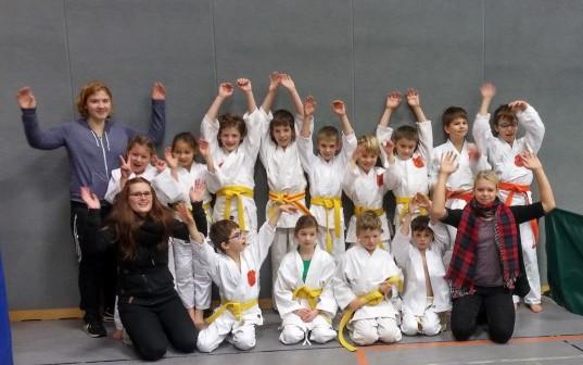 Der erfolgreiche Judo-Nachwuchs des JCH. (Foto: privat)