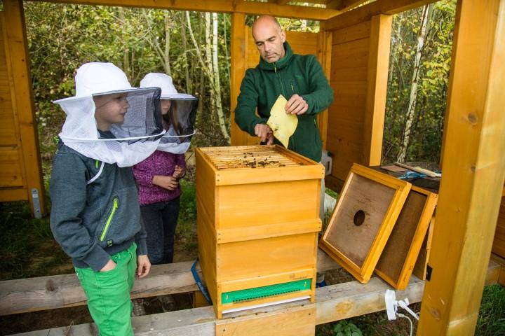 Magnus Krämer, der Leiter der Paul-Gerhardt-.Schulem, wird bei den Umwelttagen 2016 über Bienen und Imkerei referieren. (Foto: Peter Gräber)
