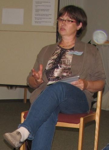 Referentin Petra Worth. Foto: privat)