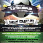 3. Internationales Hobbyfußballturnier in der Hilgenbaumhalle