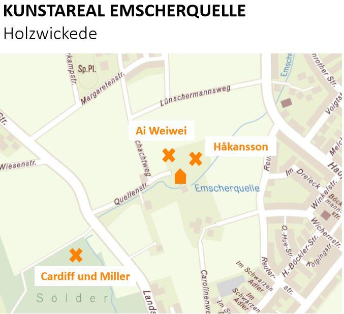 Diese Skizze zeigt den Kunstarum Emscherquelle - einen von sieben Kunsträumen der Emscherkunst 2016. (Foto: Emscherkunst()