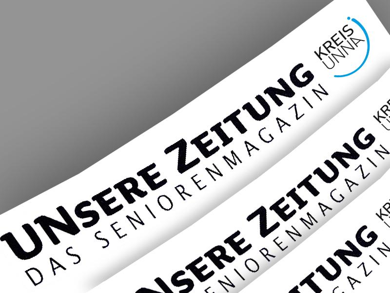 In der4 neuen Ausgabe des Seniorenmagazins Unsere Zeitung findet sich auch ein Beitrag der Holzwickederin (Foto: B. Kalle - Kreis Unna)