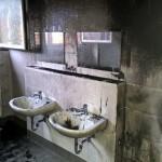 Feuer in der Nordschule: Nur hoher Sachschaden