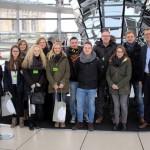 Auszubildende der kommunalen Verwaltungen besuchen Bundestag