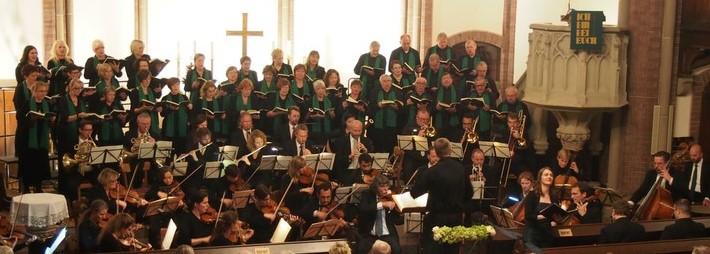 Führt Mendelsohn Bartoldys Sinfonie Nr. 2 in der ev. Kirche am Markt auf: der Chor Cantabile. (Foto: privat)