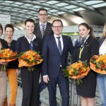 Flughafen übernimmt erfolgreiche Auszubildende