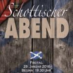 DBC startet mit schottischem Abend ins Jahr: Burns Night mit Whisky Tasting im Forum