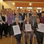 Trägerverein der Senioren-Begegnungsstätte ehrt langjährige Mitglieder