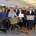 Verwaltungsvorstand des Kreises informiert sich über Startup: Besuch bei UNIQ GmbH