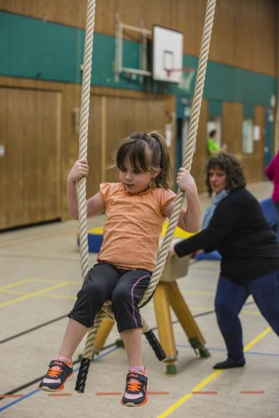 Mit über 400 Kindern und Erwachsenen verzeichente der HSC einen Rekordbesuch. (Foto: Peter Gräber)